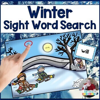 Sight Words- Winter Search