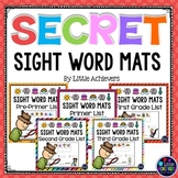 Secret Code Activities Sight Word Centers - Sight Words Activities Packet Bundle