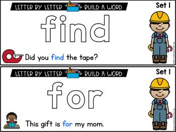 Free Kindergarten Sight Words Activities