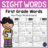 First Grade Sight Words Activity Worksheets | Sight Words Worksheets