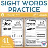 Sight Words Practice 3rd Grade