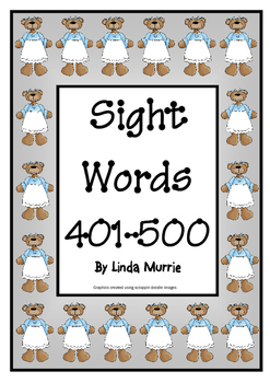 Sight Words 401-500