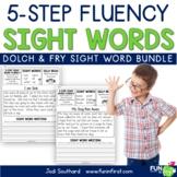 Sight Words - 5-Step Fluency BUNDLE
