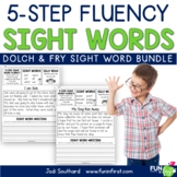 Sight Words - 5-Step Fluency BUNDLE