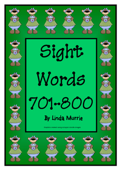 Sight Words 701-800