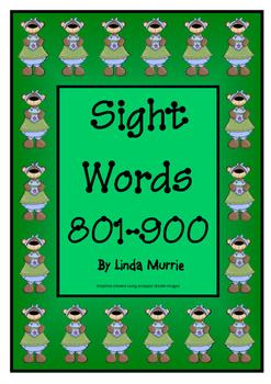 Sight Words 801-900