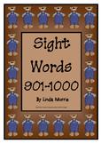 Sight Words 901-1000