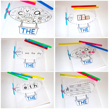 Sight Words Activities - Airships {Fry 31-40}