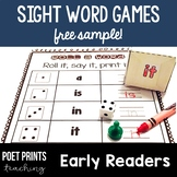 Sight Words Literacy Center