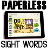 Google Classroom™ Activities Sight Words Activities for Kindergarten (room)