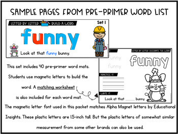 Kindergarten-First-Second-Third Grade Sight Word Activities, Worksheets BUNDLE