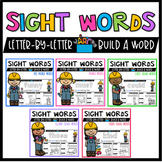 Sight Word Center Activities and Worksheets BUNDLE |  WORD