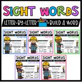 Sight Word Centers Kindergarten, First Grade, Second Grade Activities BUNDLE