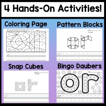 Third Grade Literacy Centers with Ink Stamping {41 Words!}