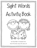 Sight Words Activity Book #11
