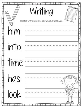 Sight Words Activity Book #14