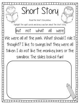 Sight Words Activity Book #7