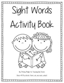 Sight Words Activity Book #9