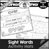 Sight Words Activity Mats - Fry 101-150 b&w edition