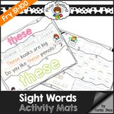 Sight Words Activity Mats - Fry 51-100