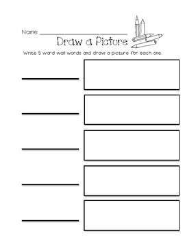Sight Words Activity Sheets and Labels