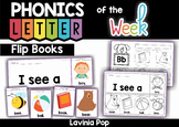 Sight Words and Beginning Sounds Flip Books with Writing Activities