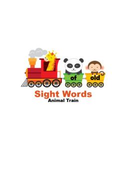 Sight Words Animal Train