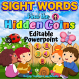 Sight Words Animated Powerpoint Game for Spring and Summer