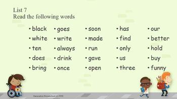 Complete Sight Words Assessment