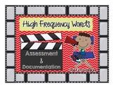 Sight Words Assessment & Documentation Goodies!