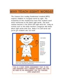 Sight Words Assessment Leveled/Interactive