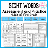 Sight Words Assessment and Practice (Can be used with IRLA 1B Words)
