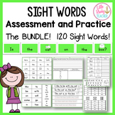 Sight Words Assessment and Practice (Can be used with IRLA
