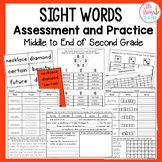 Sight Words Assessment and Practice (Can be used with IRLA 2R Words)