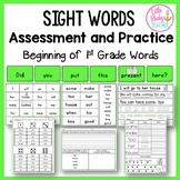 Sight Words Assessment and Practice (2G Words)