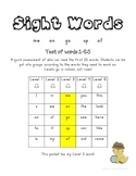 Sight Words: Assessments, Activities and Games (Level 3)