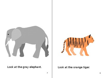 Sight Words: At the Zoo