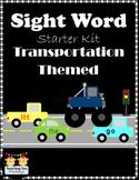 Sight Word Starter Kit (Transportation Themed)