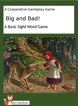 Sight Word Game - Big and Bad!  (Cooperative Gameplay)
