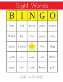 Sight Words Bingo - 1st Grade Level