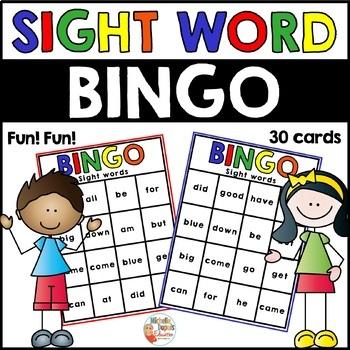 Sight Words - Bingo