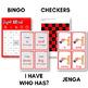 Sight Words Bingo - Dolch Pre-Primer in Color or B&W