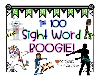 Sight Words & Boogie List 1