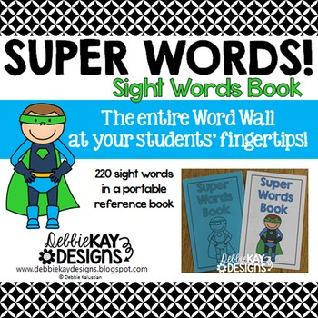 Sight Words Reference Book