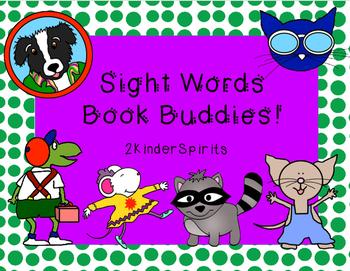 Sight Words Book Buddies