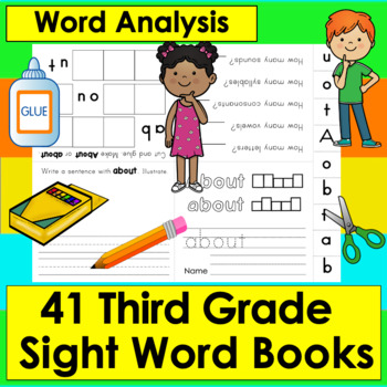 Sight Words Booklets GRADE 3: Interactive & Foldable - 41