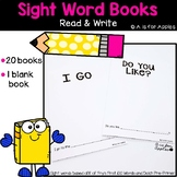 Sight Word Read and Write Books