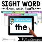 Sight Word Boom Cards™ First 100 Sight Words Bundle