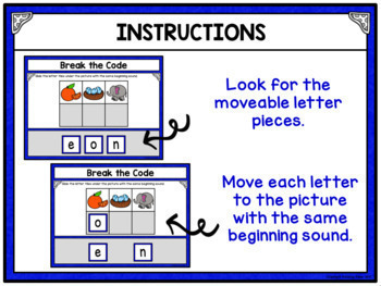 Sight Words Break the Code Bundle Paperless Digital Resource for Google Drive