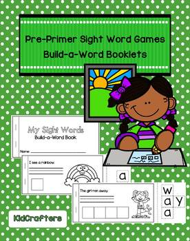 Sight Words Build-a-Word Booklets